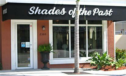 Shades Of The Past, antiques, lighting, paintings.  2360 Wilton Drive, Wilton Manors, Florida